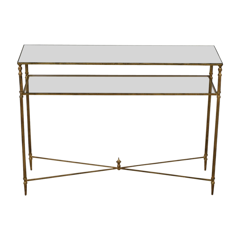 shop  Gold and Glass Accent Table online