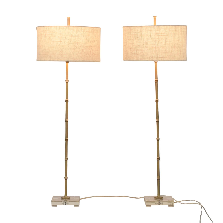 buy Uttermost Bamboo Floor Lamp Uttermost