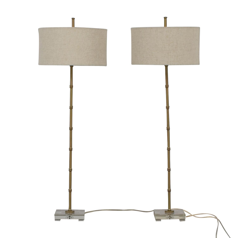 shop Uttermost Bamboo Floor Lamp Uttermost