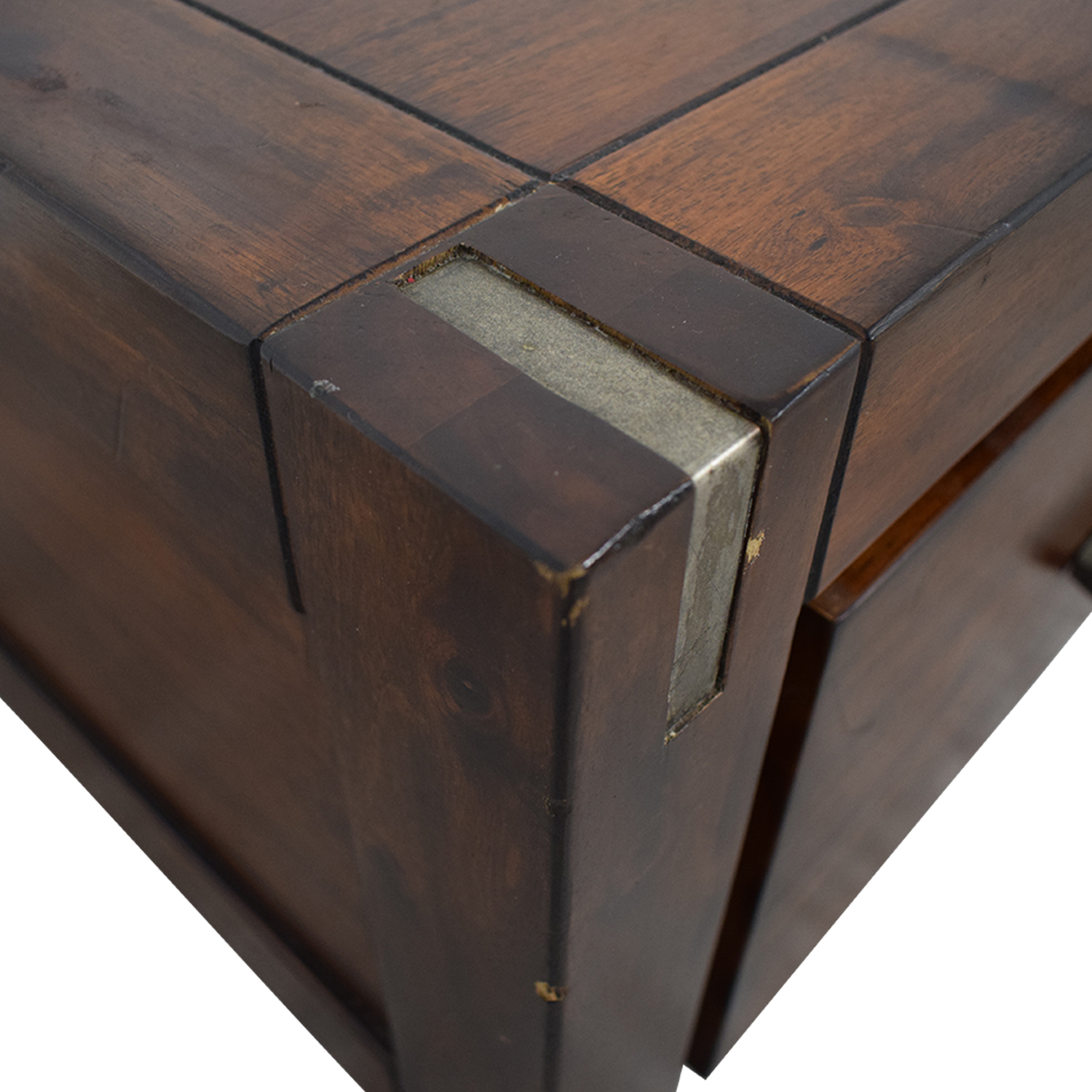 buy Ethan Allan Wood Coffee Table with Storage Ethan Allan Tables