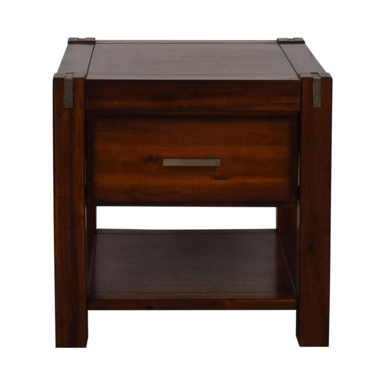 Jofran Furniture Jofran Furniture Wood Single-Drawer End Table used