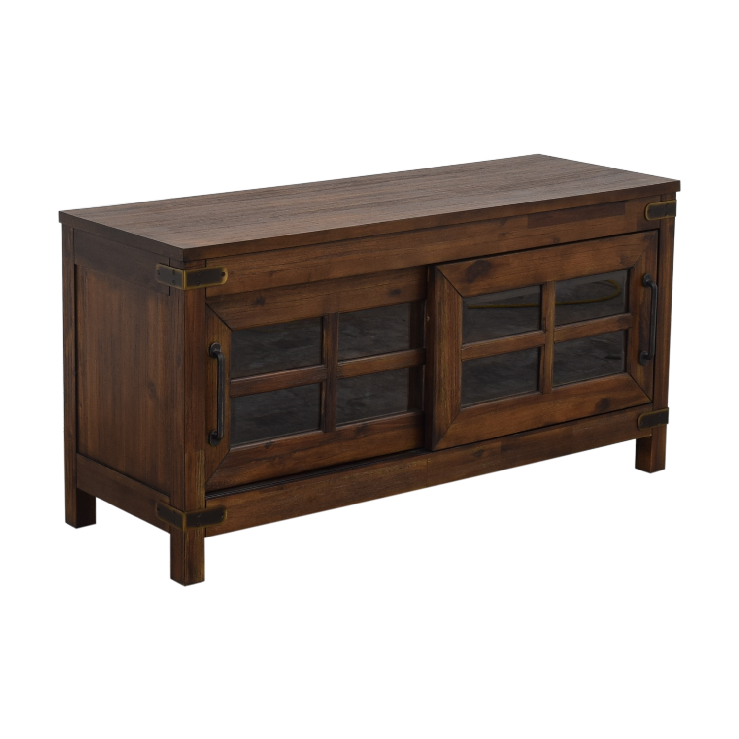 shop Bob's Discount Furniture Boulder Entertainment Console Bob's Discount Furniture