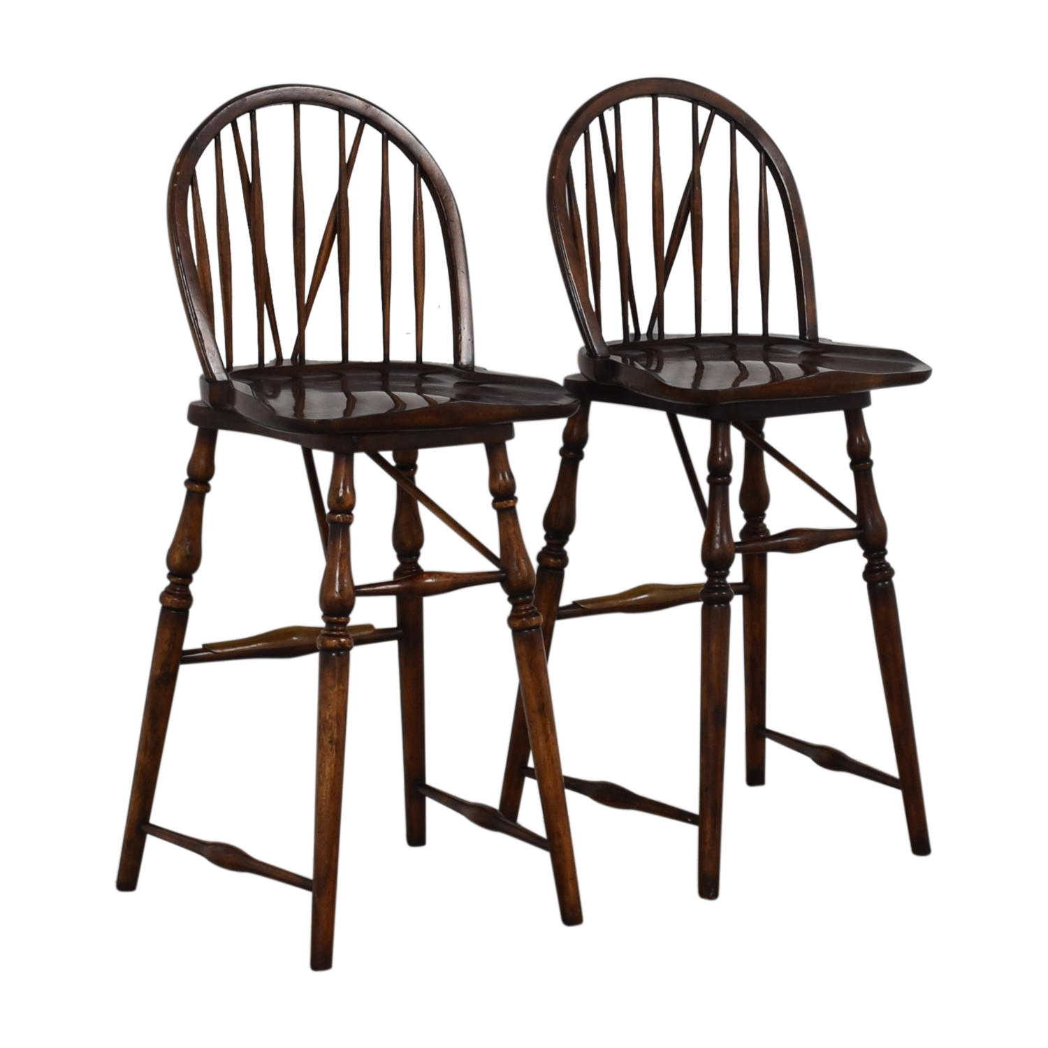 David Michael Furniture David Michael Furniture Wood Bar Stools for sale