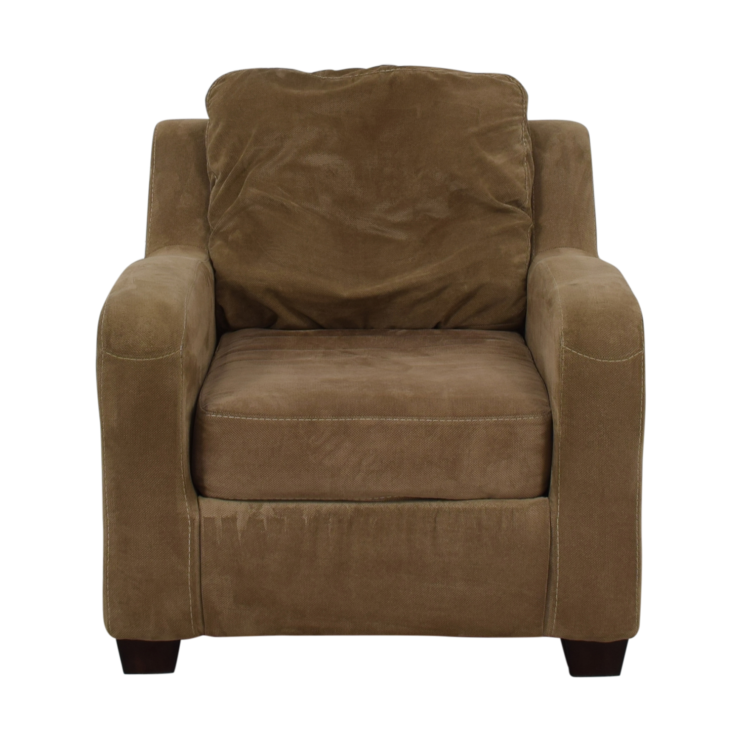 Ashley Furniture Ashley Furniture Taupe Circa Accent Chair Chairs