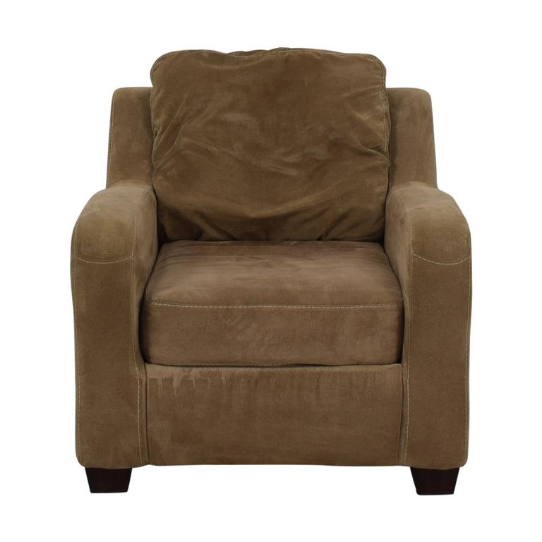 Ashley Furniture Ashley Furniture Taupe Circa Accent Chair discount