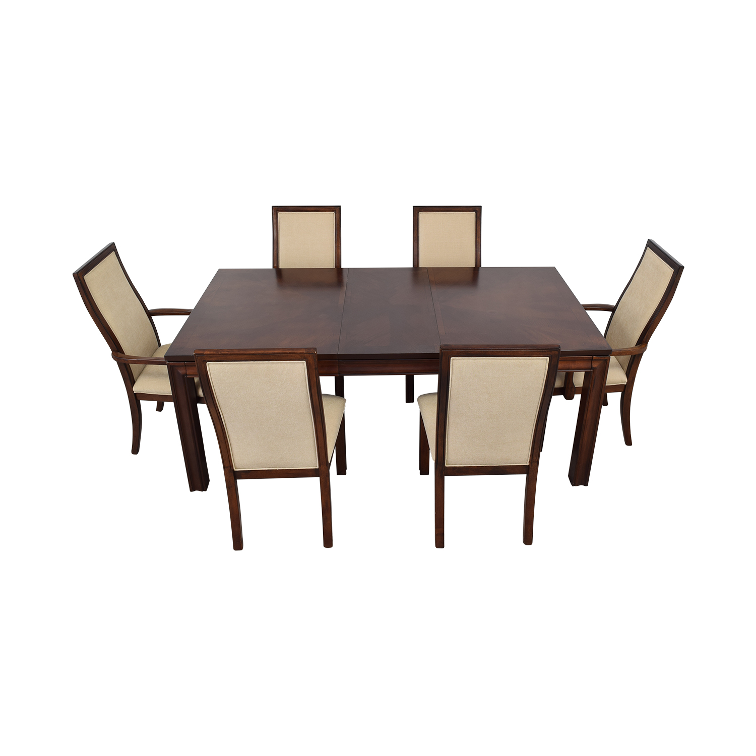 Macy's Macy's Extendable Wood Dining Set discount