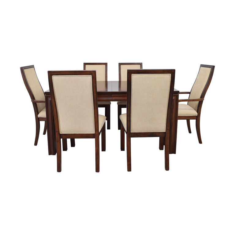 Macy's Macy's Extendable Wood Dining Set used