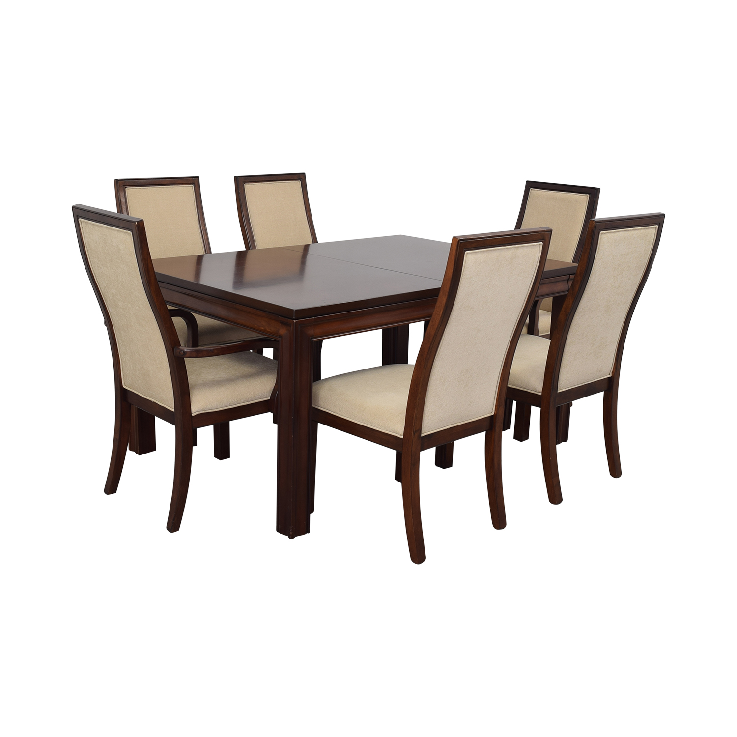 Macy's Macy's Extendable Wood Dining Set Dining Sets