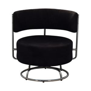 West Elm West Elm Black Rotating Design Chair on sale