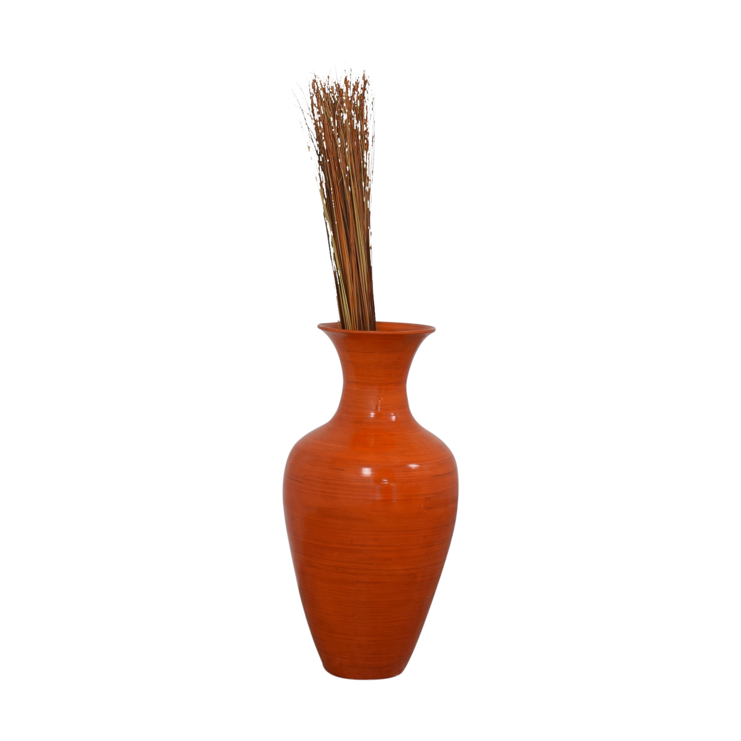 Home Goods Home Goods Orange Tall Ceramic Vase coupon