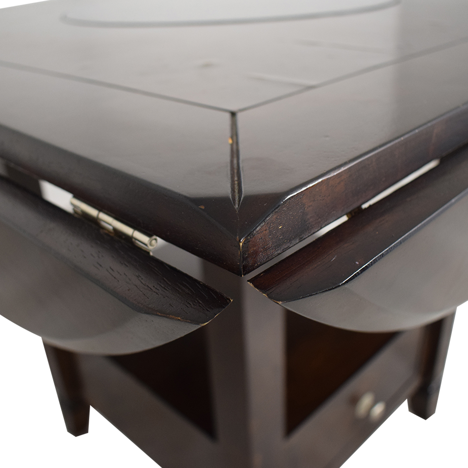 Raymour & Flanigan Raymour & Flanigan Bar Height Drop Leaf Dining Table Tables