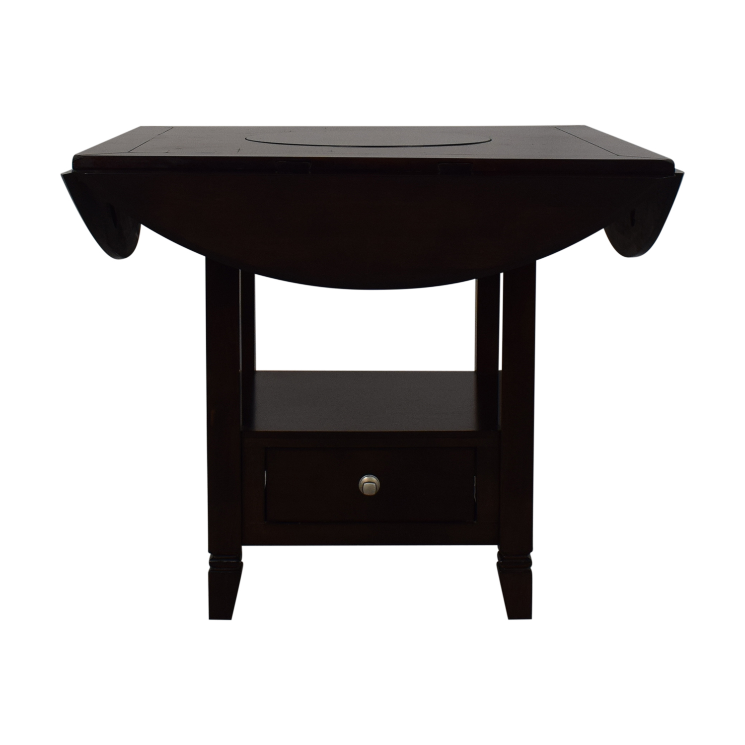 shop Raymour & Flanigan Raymour & Flanigan Bar Height Drop Leaf Dining Table online