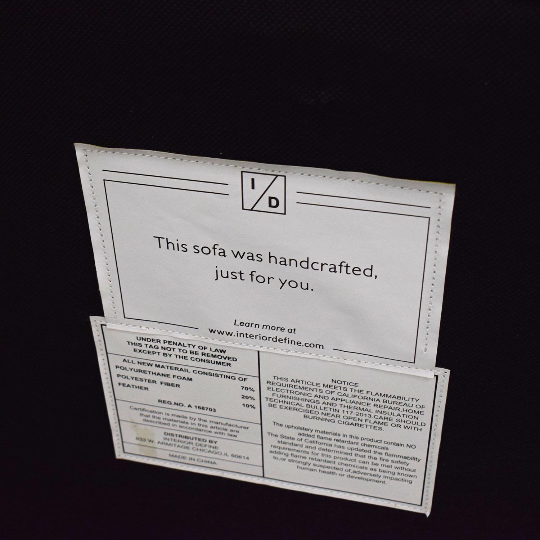 Interior Define Interior Define Owens Grey Right Chaise Sectional Gray