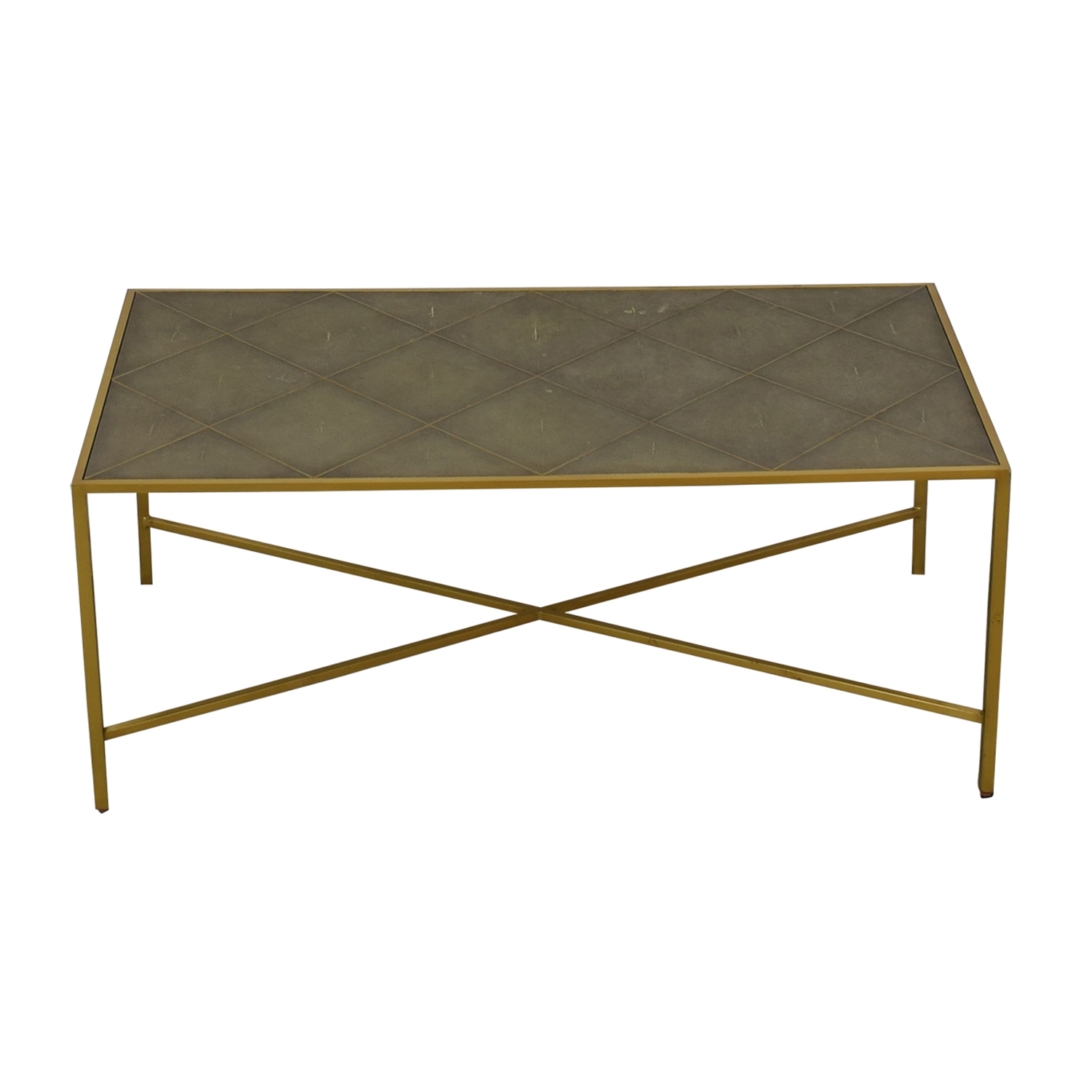 One Kings Lane One Kings Lane Theodore Alexander Shagreen Coffee Table coupon