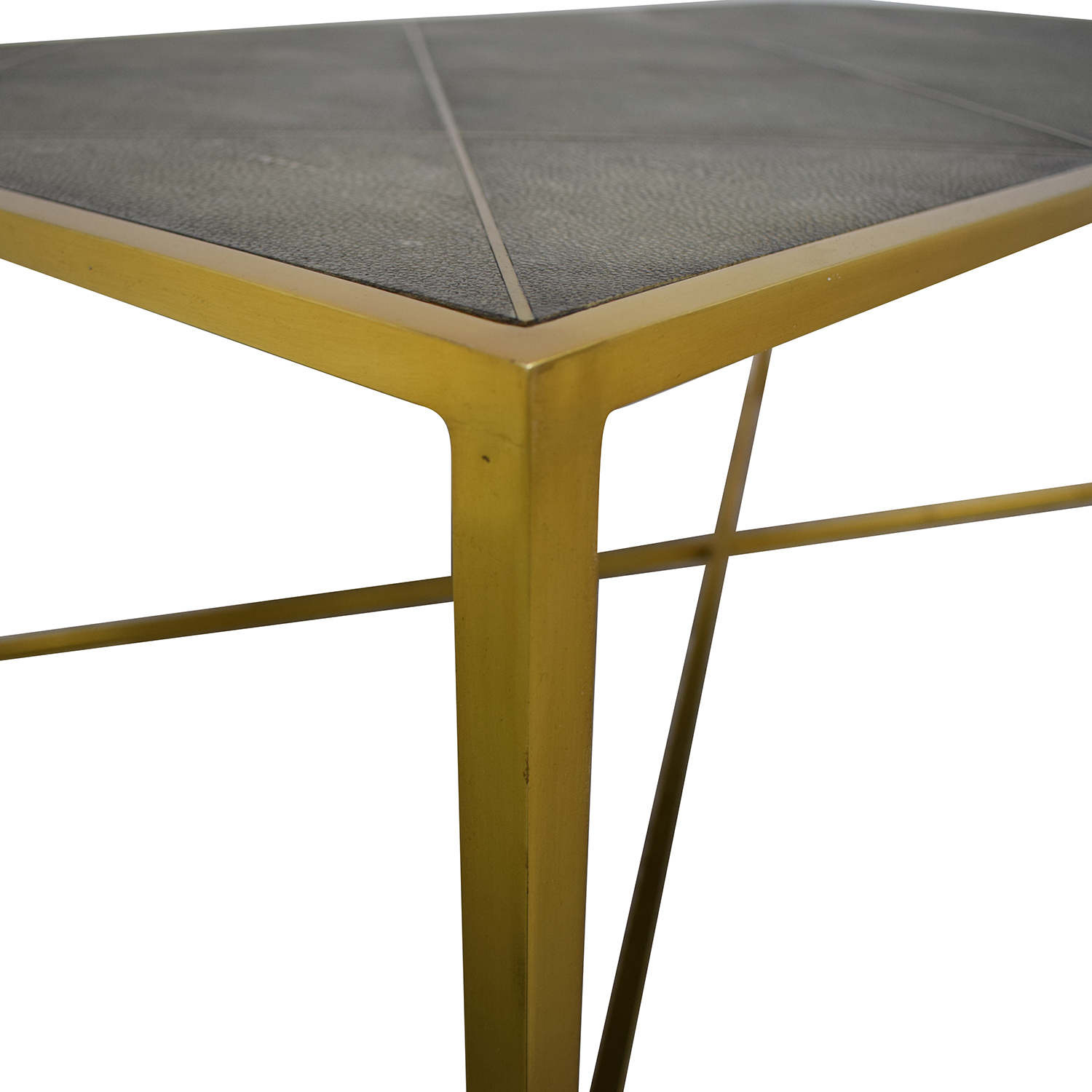 79% OFF   One Kings Lane One Kings Lane Theodore Alexander Shagreen Coffee  Table / Tables