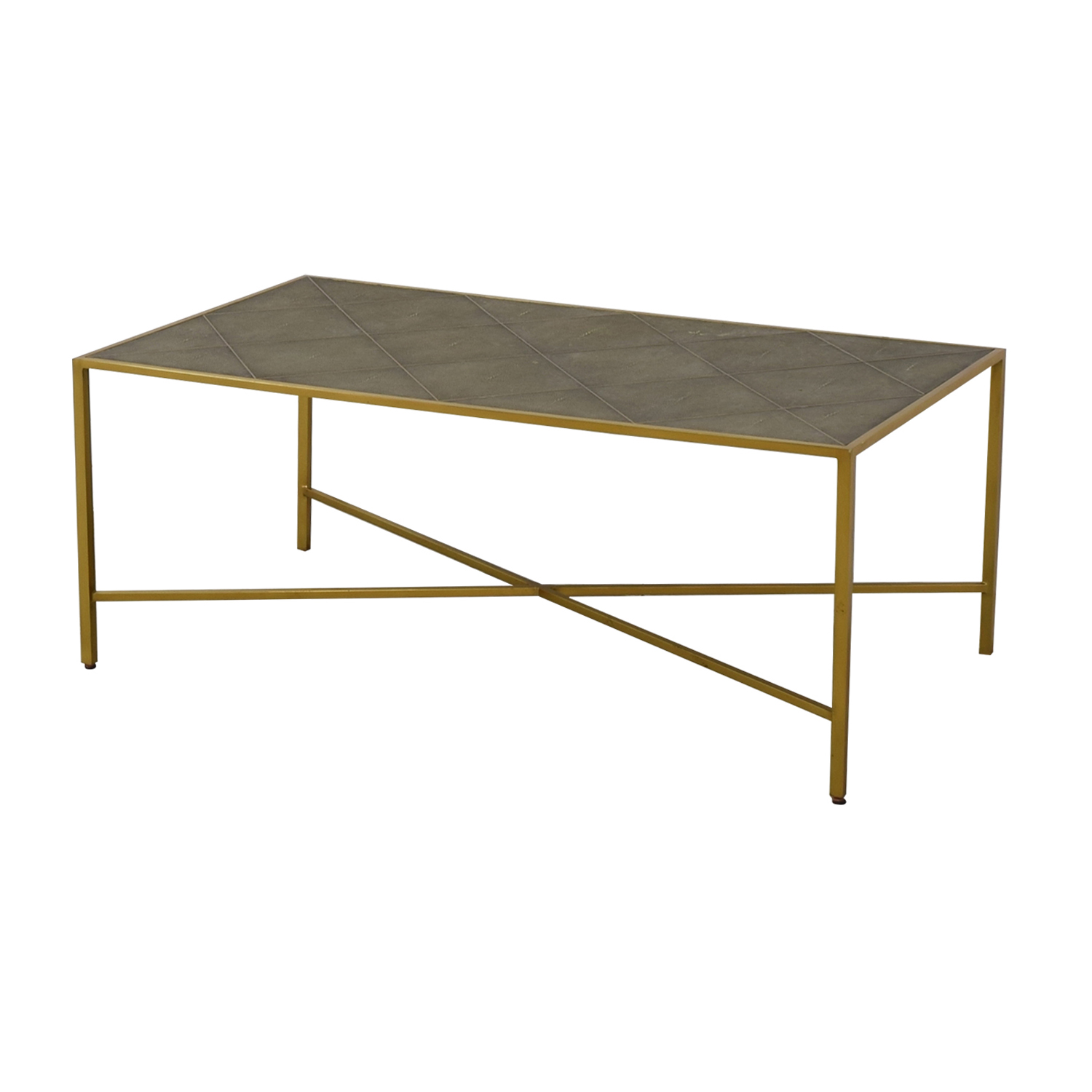 Attrayant 79% OFF   One Kings Lane One Kings Lane Theodore Alexander Shagreen Coffee  Table / Tables