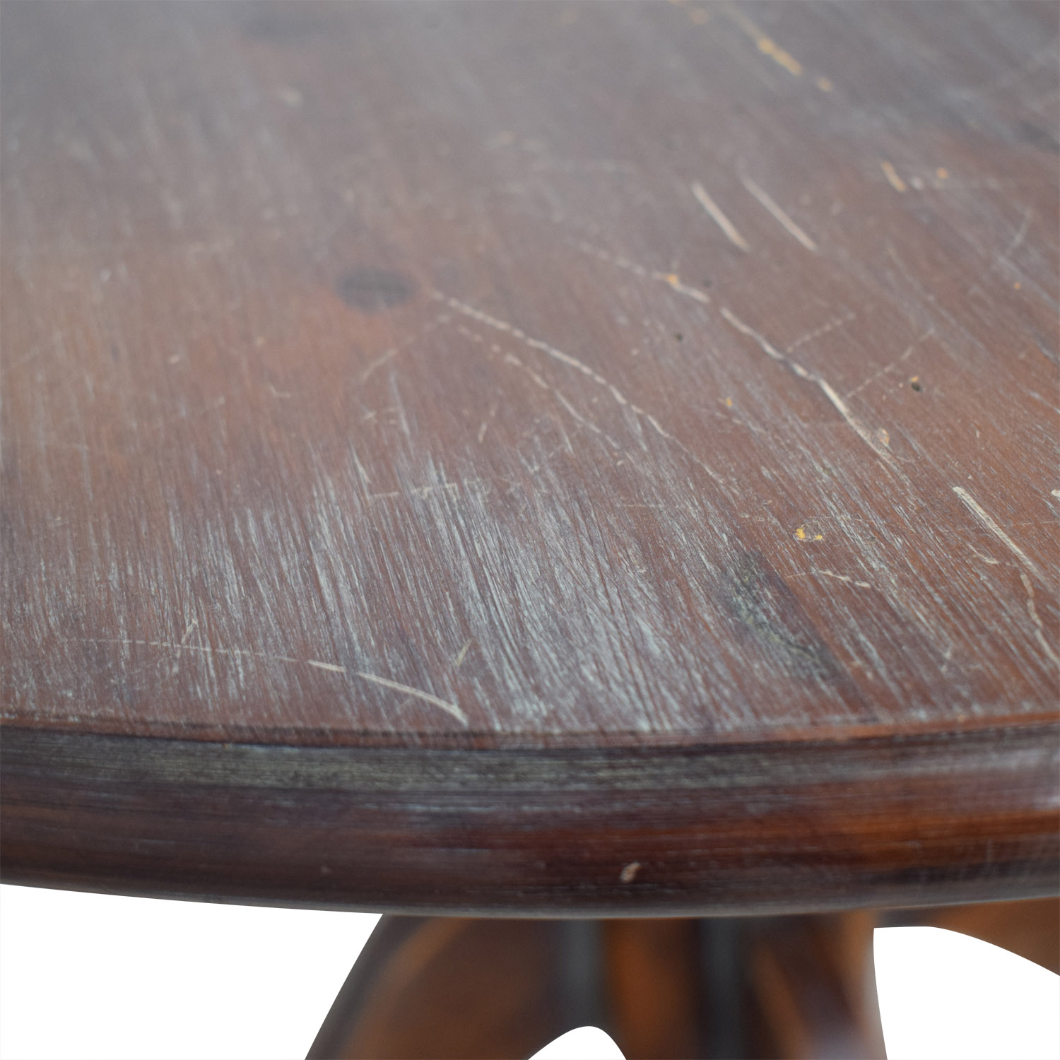 Pottery Barn Pottery Barn Round Wood Pedestal Dining Table price
