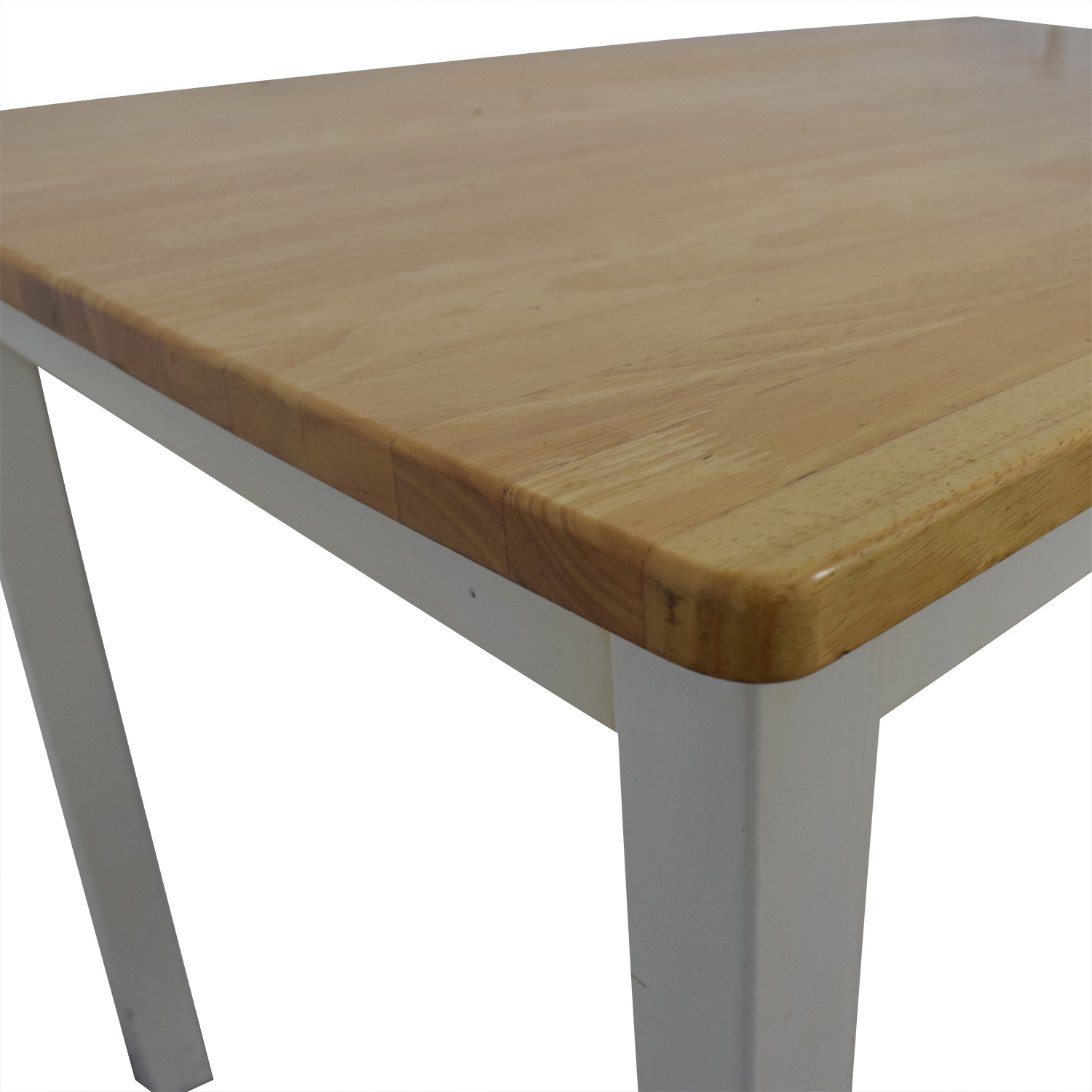 White and Wood Dining Table Dinner Tables