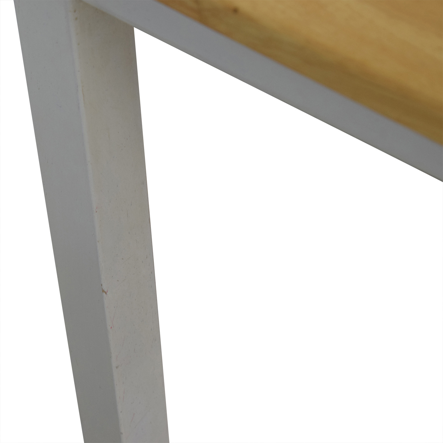White and Wood Dining Table sale