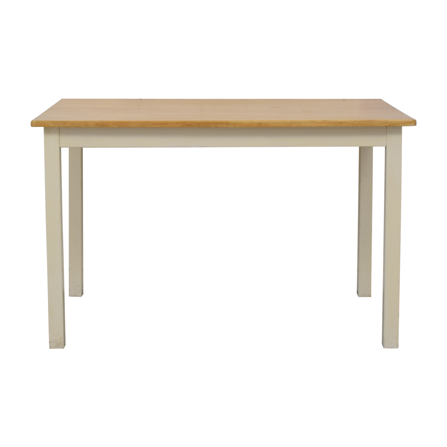 shop White and Wood Dining Table