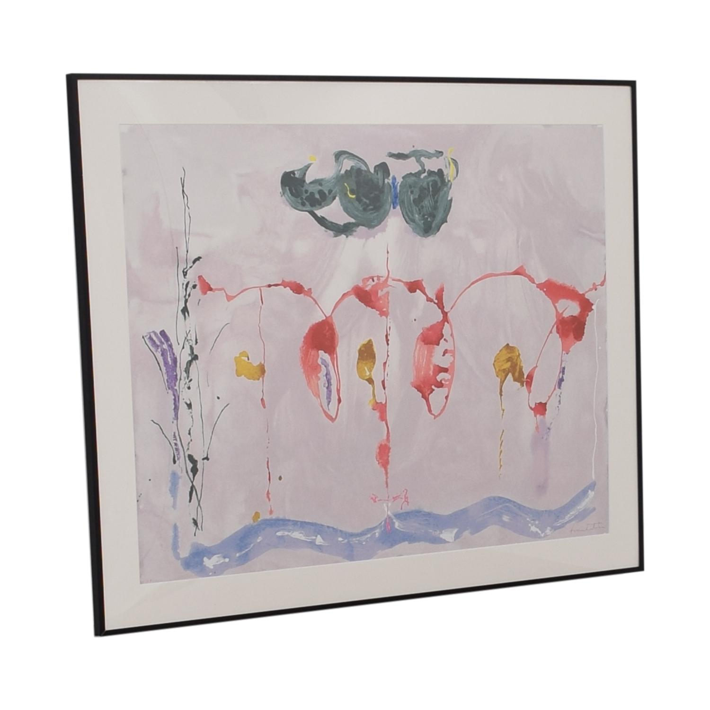shop Helen Frankenthaler 'Aerie' Silkscreen Print Lincoln Center Wall Art