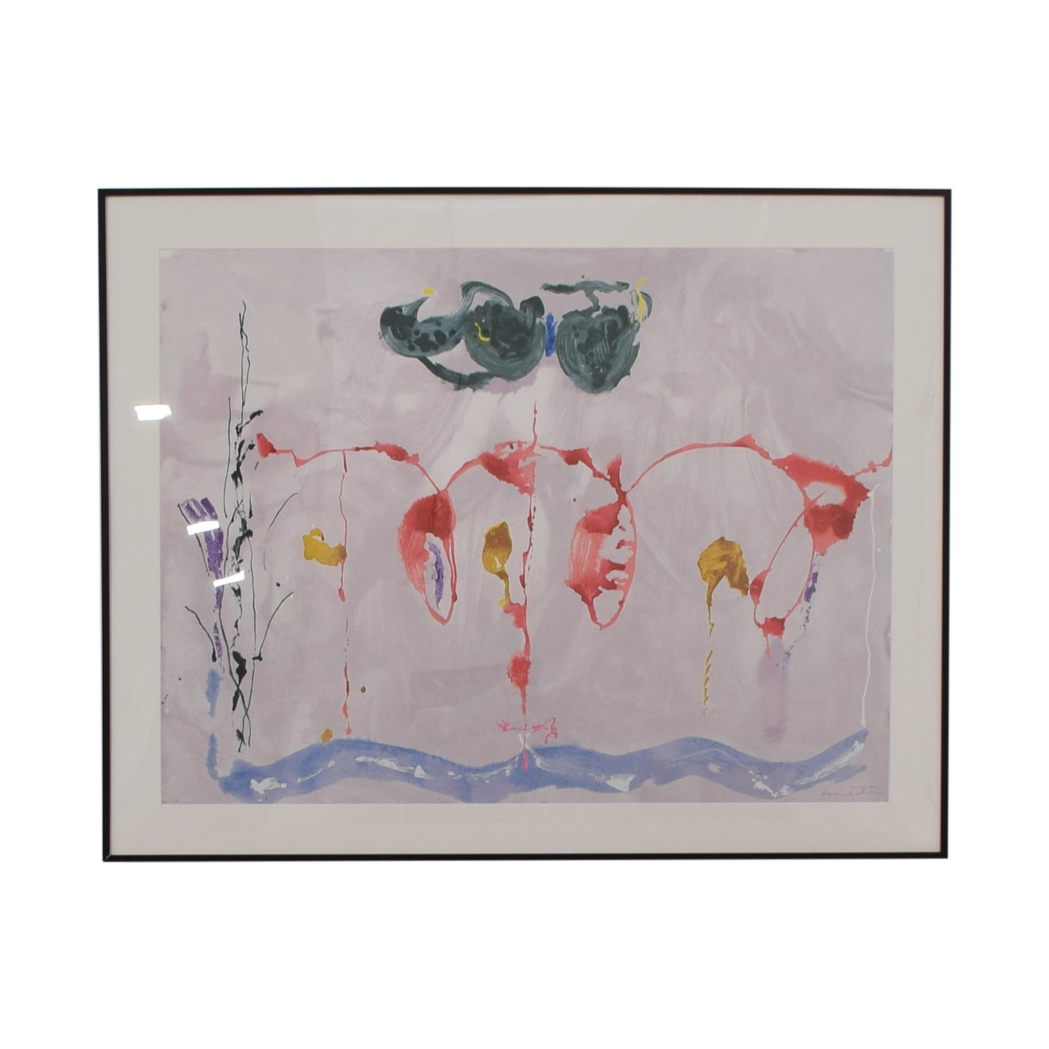 Lincoln Center Helen Frankenthaler 'Aerie' Silkscreen Print for sale
