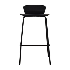 Crate & Barrel Crate & Barrel Felix Black Counter Bar Stool discount