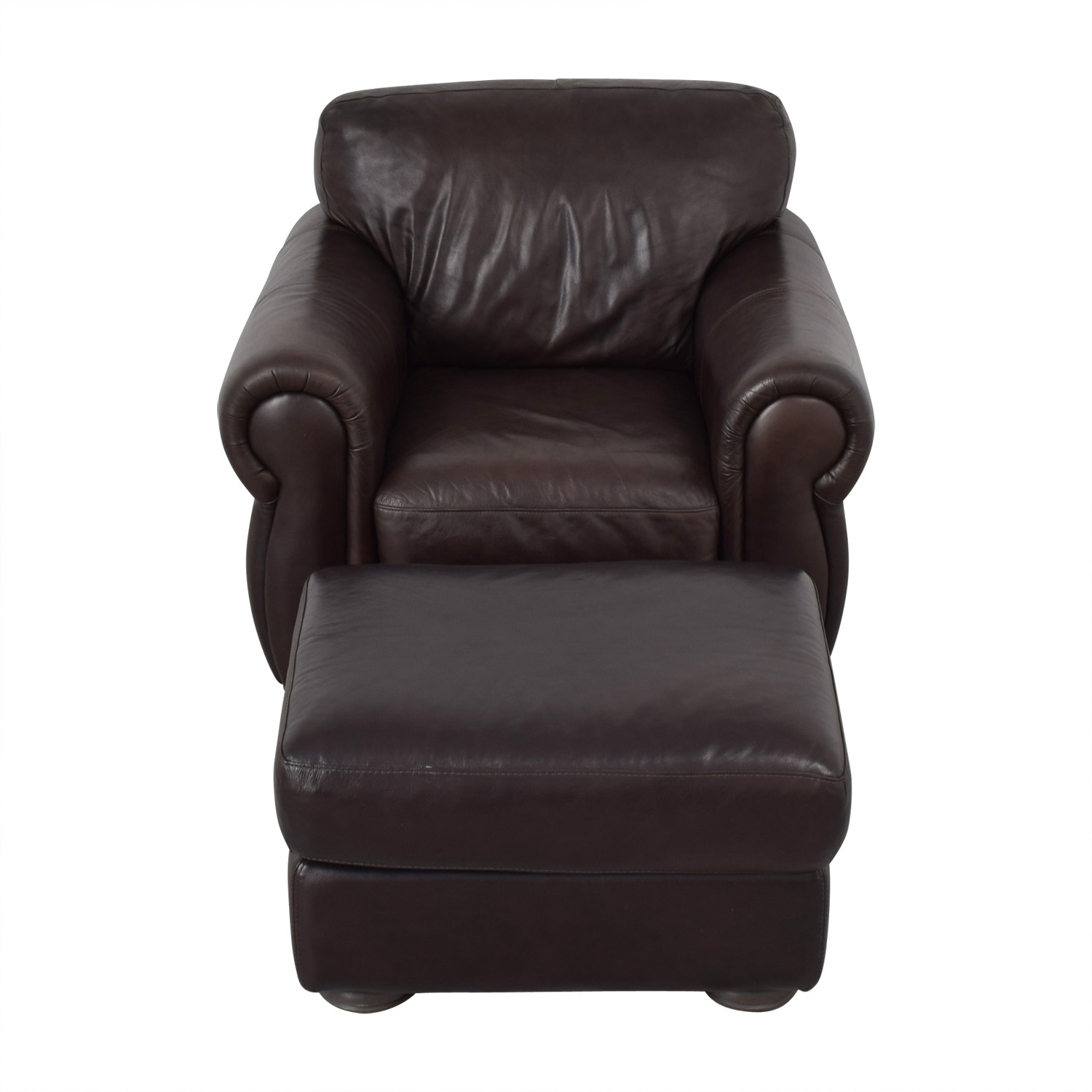Raymour And Flanigan Molly Accent Chair: Raymour & Flanigan Raymour & Flanigan Brown