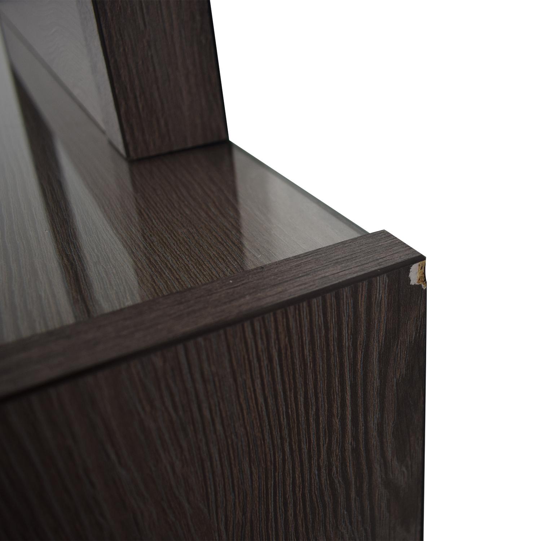 buy Bob's Furniture Soho Six-Drawer Dresser with Mirror Bob's Furniture