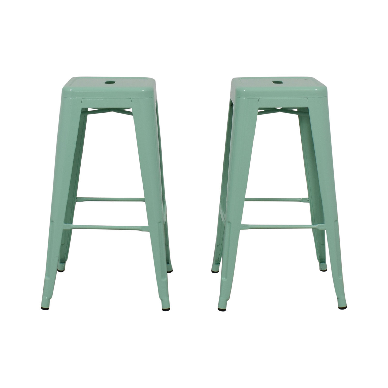 Surprising 66 Off Target Target Threshold Carlisle Metal Counter Stools Chairs Creativecarmelina Interior Chair Design Creativecarmelinacom