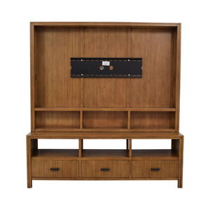 Crate & Barrel Crate & Barrel by Maria Yee Entertainment Center used