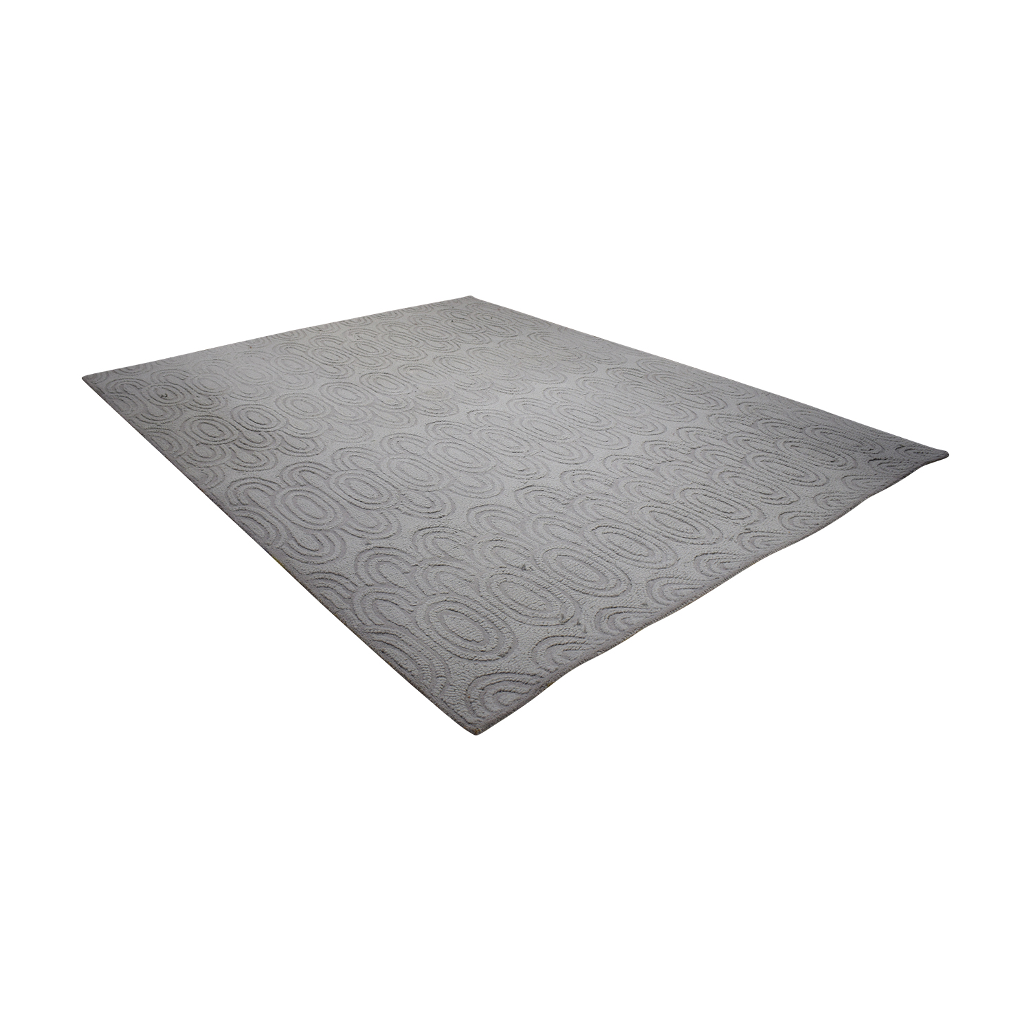 West Elm West Elm Grey Wool Rug