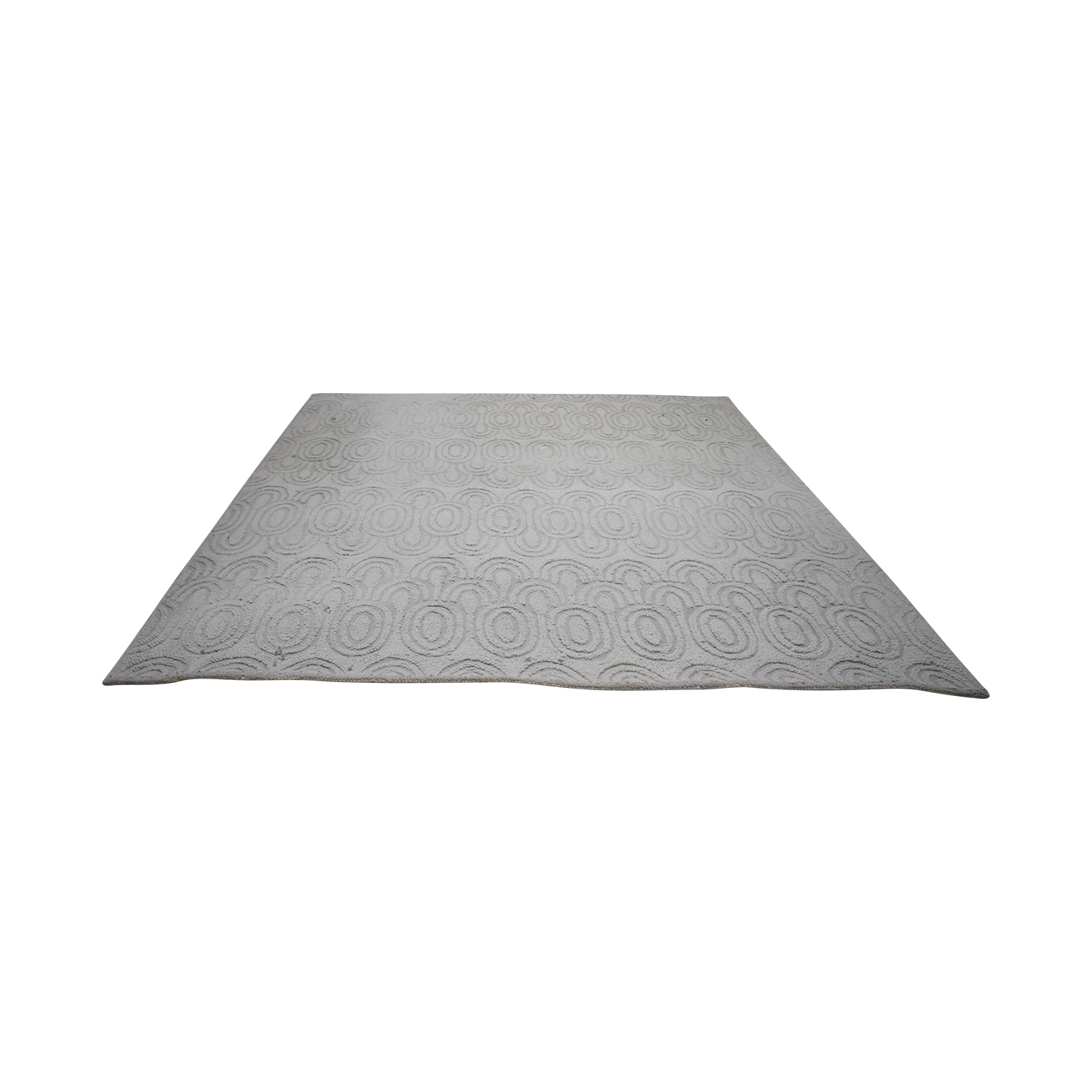 West Elm West Elm Grey Wool Rug used