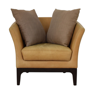 West Elm West Elm Tulip Beige Accent Chair