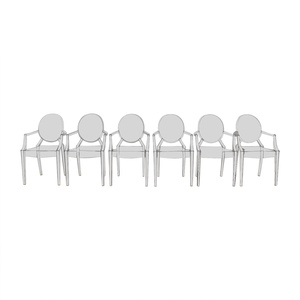 Kartell Phillippe Starck Louis Ghost Chairs sale