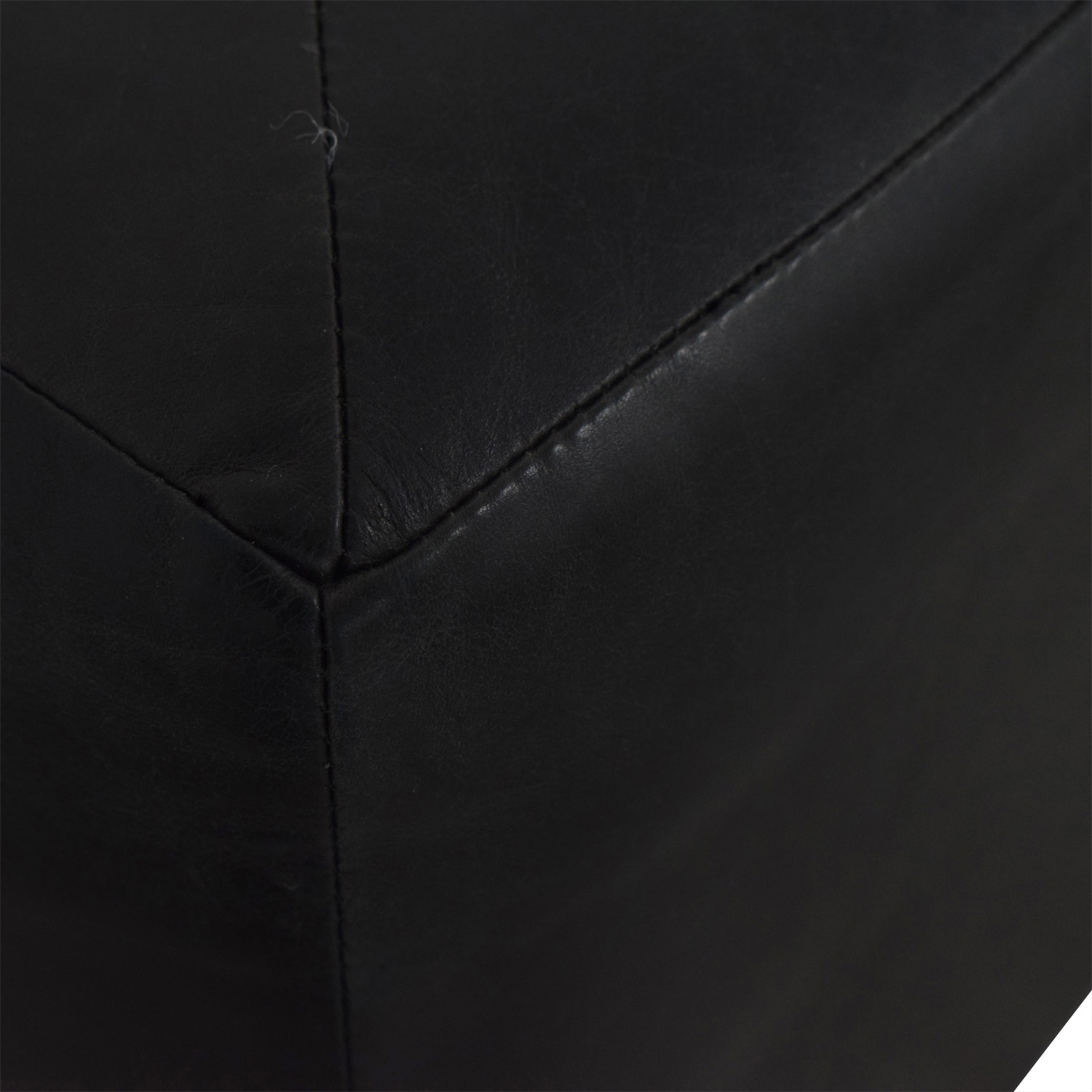 buy Black Ottomans  Chairs