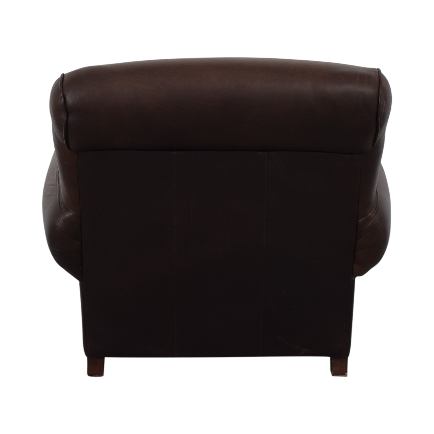 Pottery Barn Brown Club Chair sale