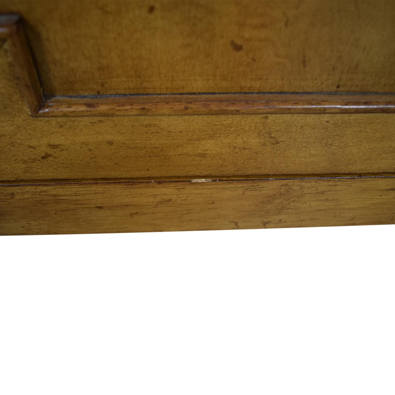 Hooker Hooker Lucy Wood Four-Drawer Sideboard beige