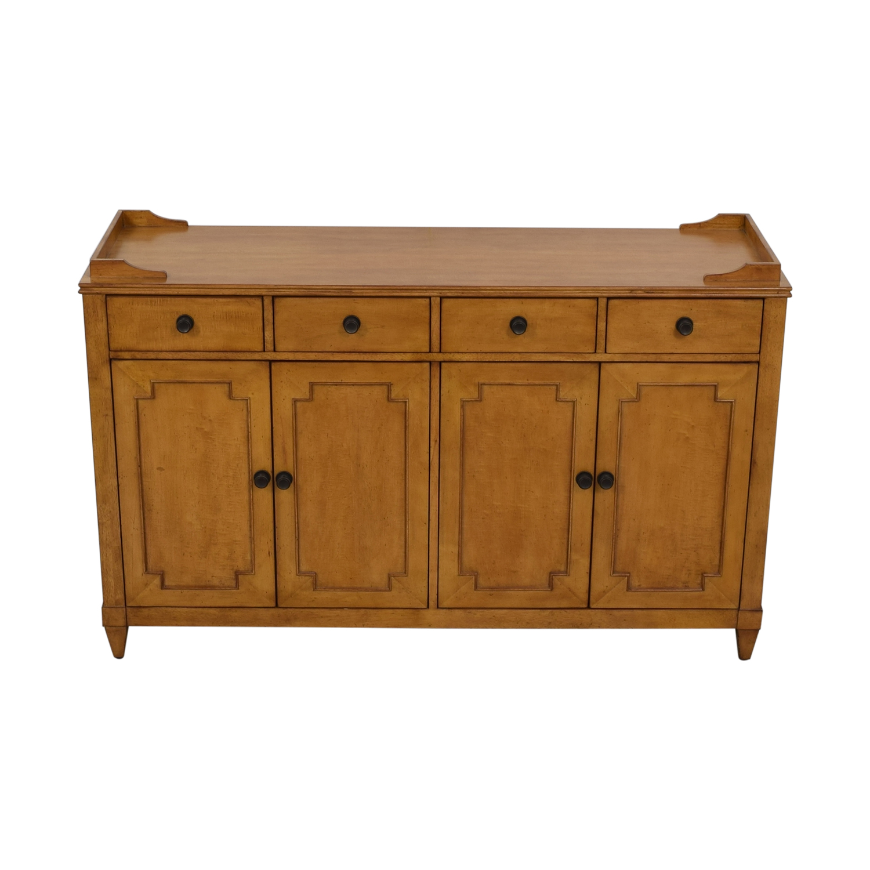 buy Hooker Lucy Wood Four-Drawer Sideboard Hooker