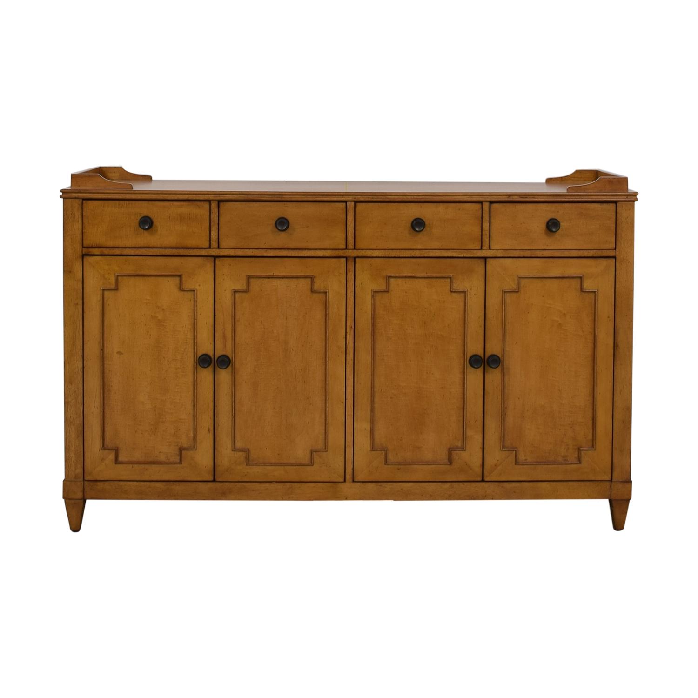 Hooker Hooker Lucy Wood Four-Drawer Sideboard on sale