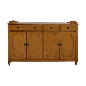 shop Hooker Lucy Wood Four-Drawer Sideboard Hooker