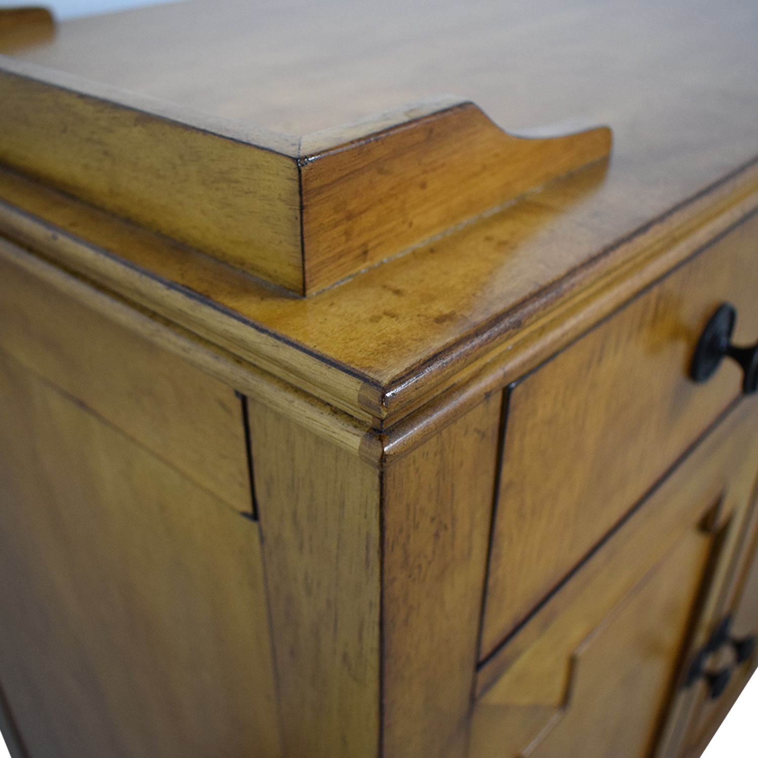 Hooker Hooker Lucy Wood Four-Drawer Sideboard used