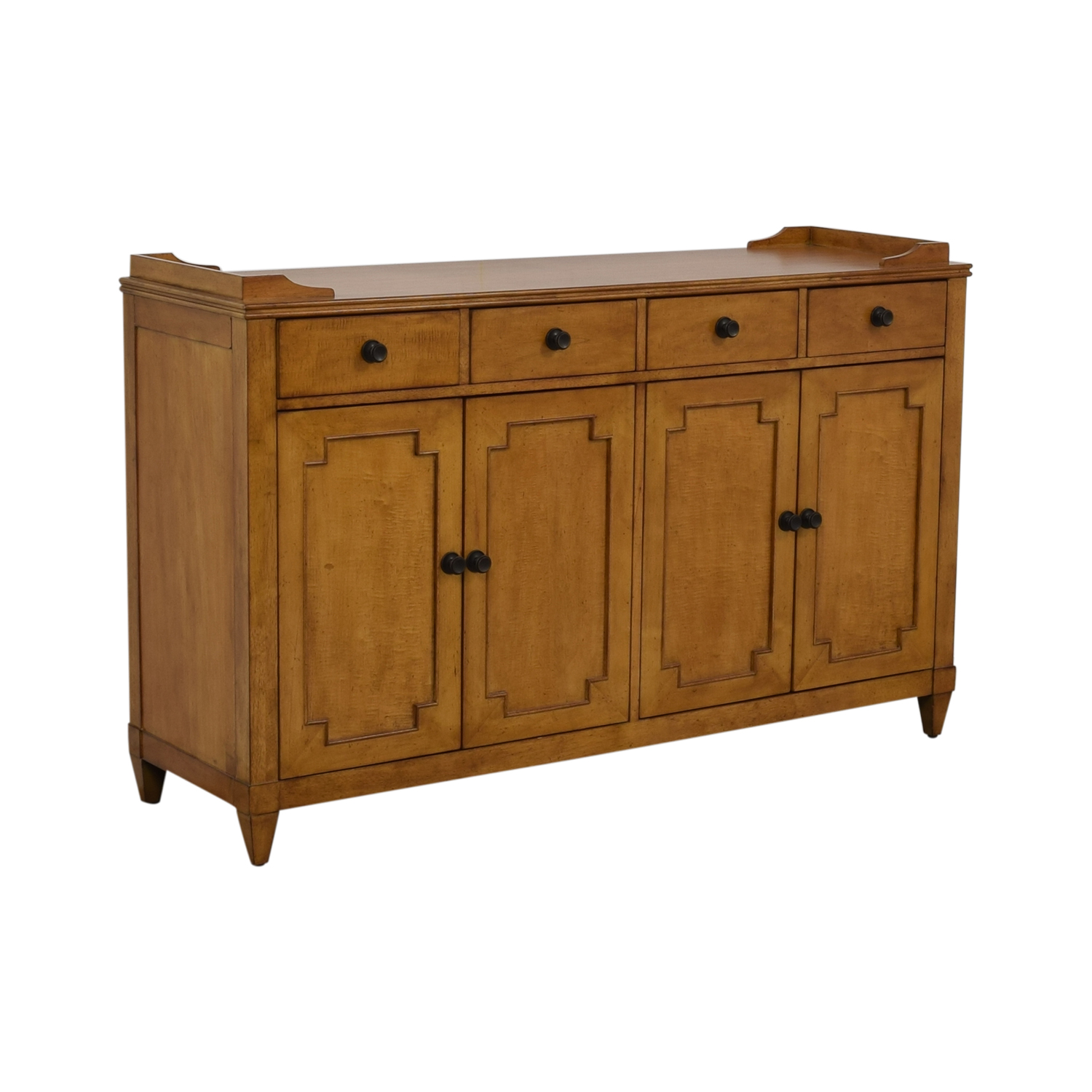 Hooker Lucy Wood Four-Drawer Sideboard / Cabinets & Sideboards