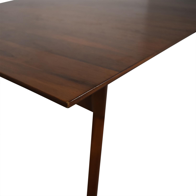 West Elm West Elm Mid-Century Expandable Dining Table on sale