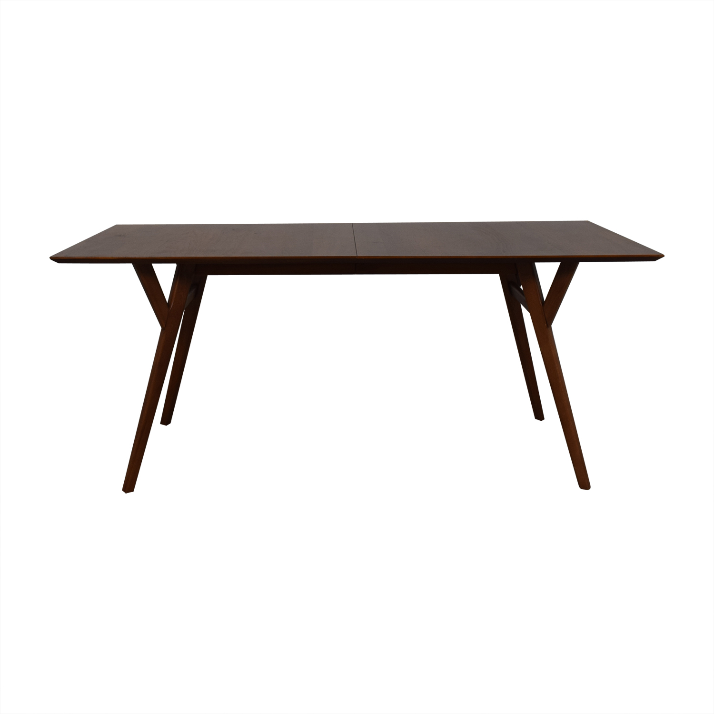West Elm Mid-Century Expandable Dining Table sale