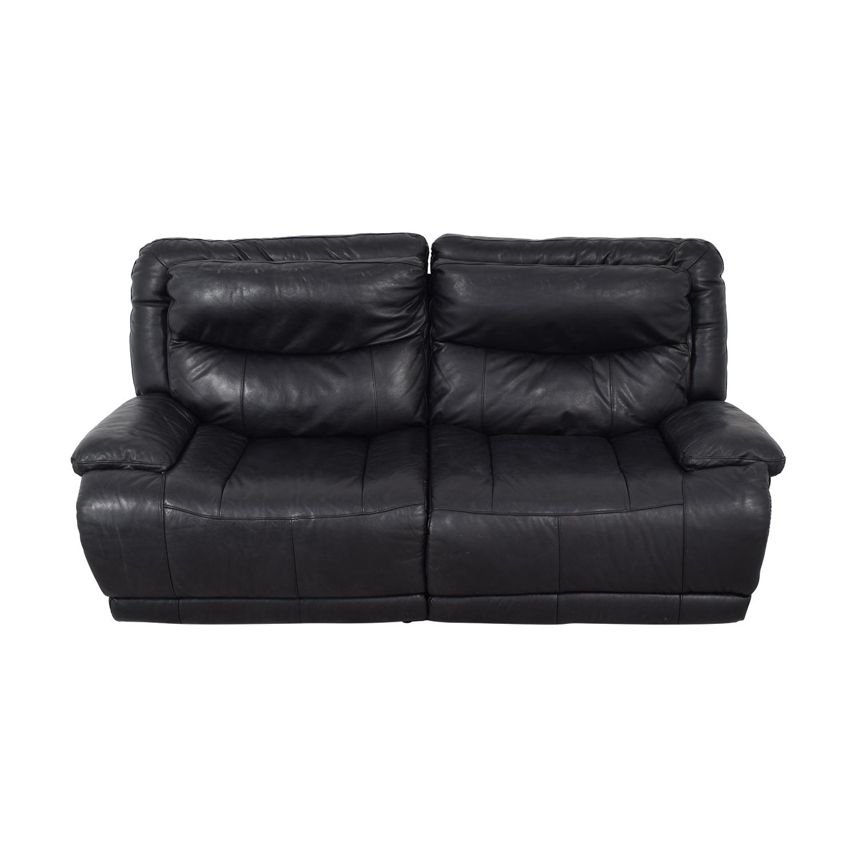 Black Electric Recliner Sofa Classic Sofas