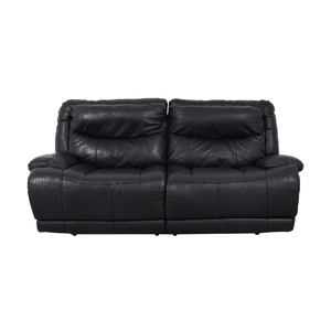 Black Electric Recliner Sofa