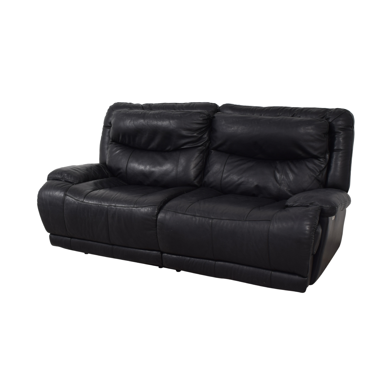 Peachy 90 Off Black Electric Recliner Sofa Sofas Evergreenethics Interior Chair Design Evergreenethicsorg