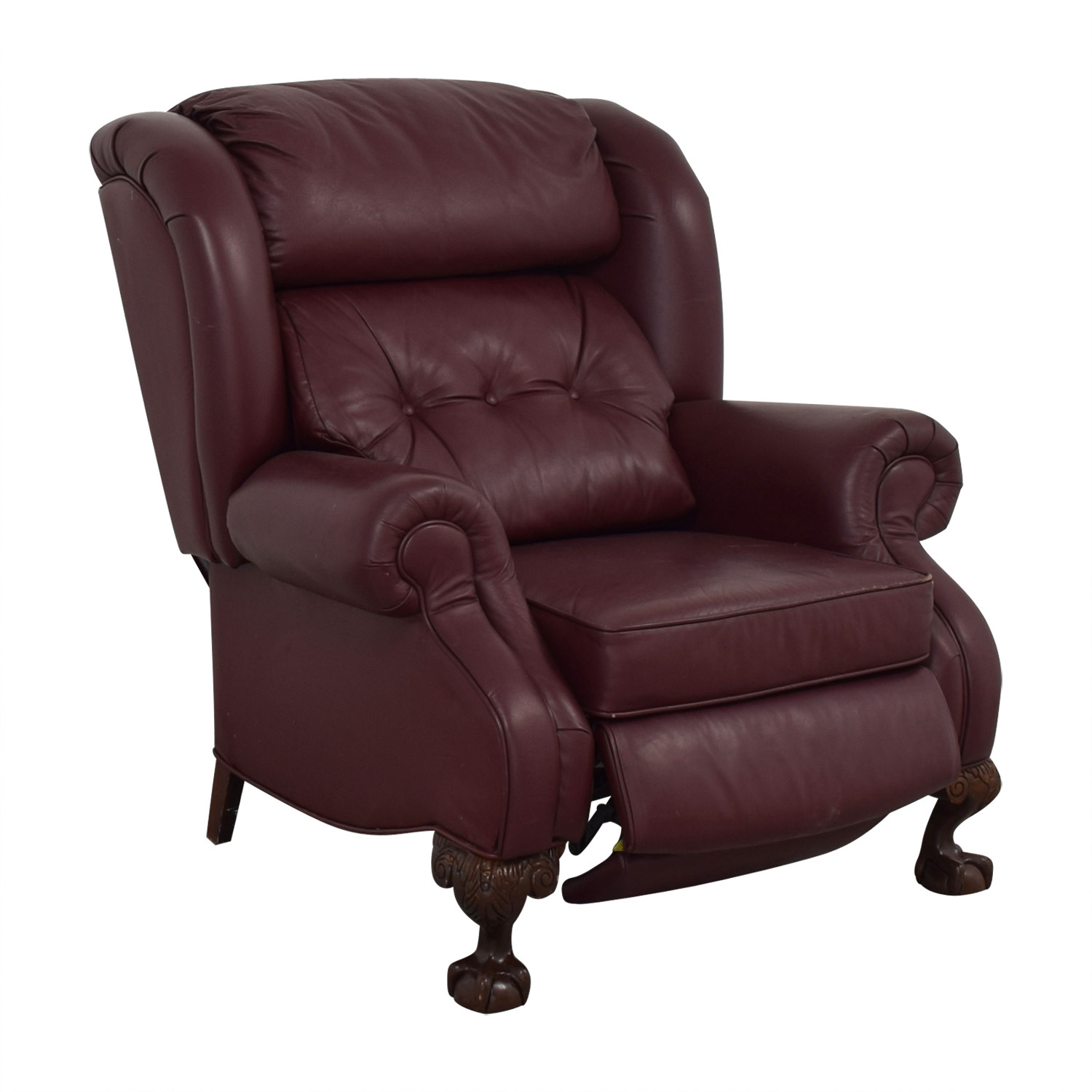 PeopLoungers PeopLoungers Burgundy Recliner discount