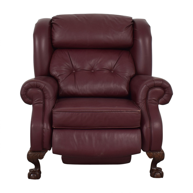 PeopLoungers PeopLoungers Burgundy Recliner Chairs